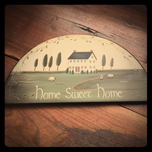 Other - Rustic farmhouse home sign